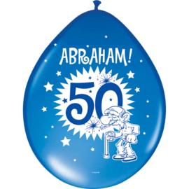 Abraham ballonnen Knalfeest assorti ø 30 cm. 8 st.