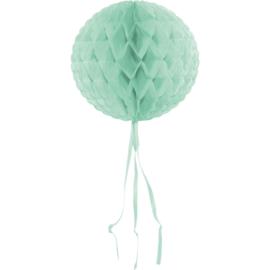 Honeycomb bal mint groen ø 30 cm.