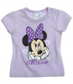 Disney Minnie Mouse t-shirt lila mt. 68