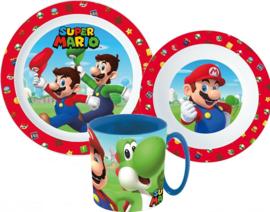 Super Mario Bros diner set 3-delig B
