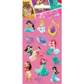 Disney Princess uitdeel stickervel 6 st.