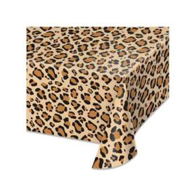 Luipaard print tafelkleed 137 x 274 cm.