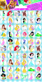 Disney Princess mini stickers