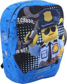 Lego City politie rugzak M 33 x 24 x 13 cm.