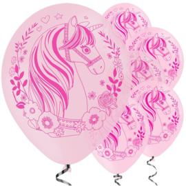 Magical Unicorn ballonnen ø 27,5 cm. 6 st.