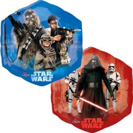 Star Wars Episode VII folieballon 55 x 58 cm.