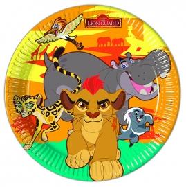 Disney The Lion Guard bordjes ø 23 cm. 8 st.