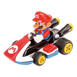 Super Mariokart  taart topper 4,5 cm.