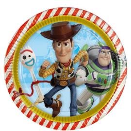 Disney Toy Story 4 bordjes ø 23 cm. 8 st.