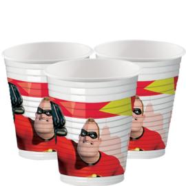 Disney The Incredibles bekertjes 8 st.