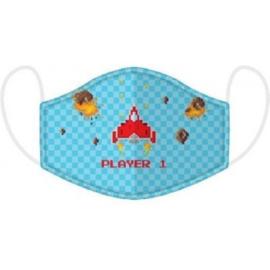 Game mondmasker Player 1 mt. large