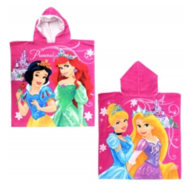Disney Princess badponcho 60 x 120 cm.