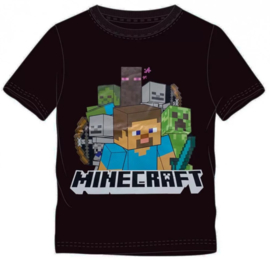 Minecraft t-shirt Steve mt. 116