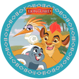 Disney The Lion Guard ouwel taart decoratie ø 21 cm. A