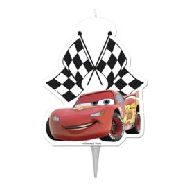 Disney Cars Lightning McQueen 2D taart kaars 8 cm.