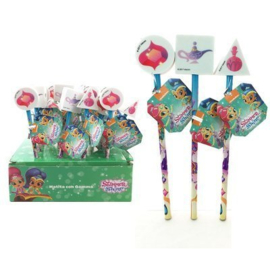 Shimmer and Shine potlood met gum p/stuk