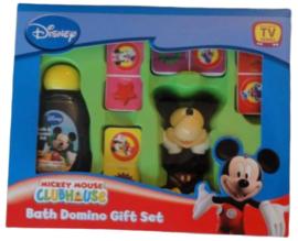 Disney Mickey Mouse Bath Domino Gift Set