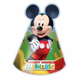 Disney Mickey Mouse feesthoedjes 6 st.