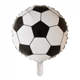 Voetbal folieballon ø 46 cm.