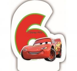 Disney Cars 6e verjaardagskaars