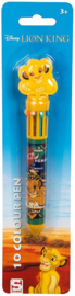 Disney The Lion King 10 kleuren pen
