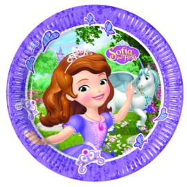 Disney Sofia the First Mystic Isles bordjes ø 23 cm. 8 st.