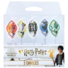 Harry Potter taart kaarsjes 5-delig