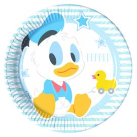Disney Baby Donald Duck gebakbordjes ø 19,5 cm. 8 st.