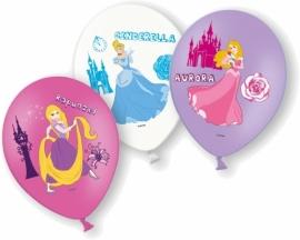 Disney Princess full color ballonnen 6 st.