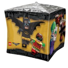 Lego Batman Cubez folieballon 38 x 38 cm.