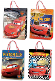 Disney Cars luxe cadeau tasje 23 x 16 x 9 cm. p/stuk