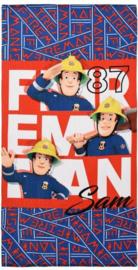 Brandweerman Sam strandlaken B 70 x 140 cm.