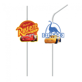 Disney Cars rietjes The Legend Of The Track 6 st.