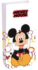 Disney Mickey Mouse popcorn zakje 10 x 22 cm.