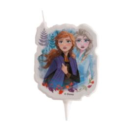 Disney Frozen 2 taart kaars 2D 7,5 cm.