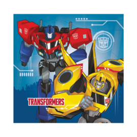 Transformers Robots in Disguise servetten 33 x 33 cm. 20 st.