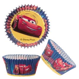 Disney Cars Lightning McQueen cupcake vormpjes 50 st.