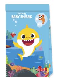 Baby Shark trakatiezakjes 4 st.