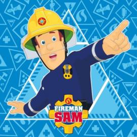 Brandweerman Sam magic towel 30 x 30 cm.