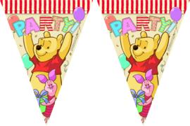 Disney Winnie de Poeh Alfabet vlaggenlijn 3 mtr.