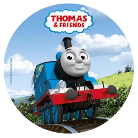Thomas de trein taart en cupcake decoratie