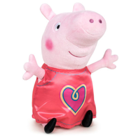 Peppa Pig knuffel Heart 20 cm.