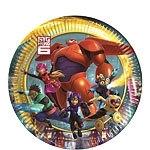 Disney Big Hero 6 gebakbordjes ø 19,5 cm. 8 st.