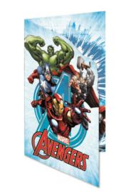 Avengers wenskaart (blanco)