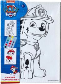 Paw Patrol Marshall canvas schilderset