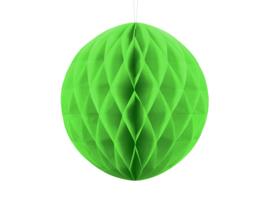 Honeycomb bal party appel groen ø 30 cm.