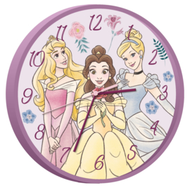 Disney Princess wandklok ø 25 cm.