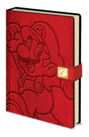 Super Mario Bros notitieboek premium A5