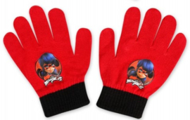 Ladybug handschoenen rood