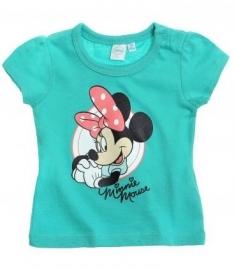 Disney Minnie Mouse t-shirt turquoise mt. 68